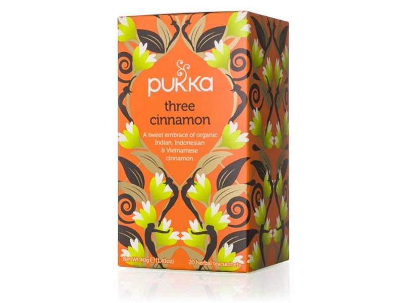 英國Pukka有機混合肉桂茶包 內有20包