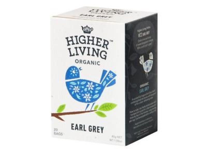 英國Higher Living有機伯爵茶 20包