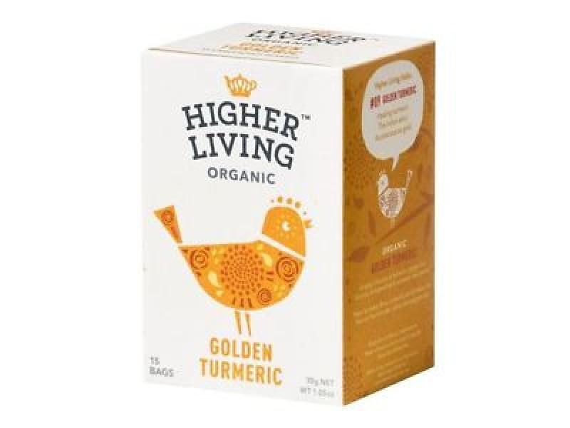 英國Higher Living有機薑黃茶 15包