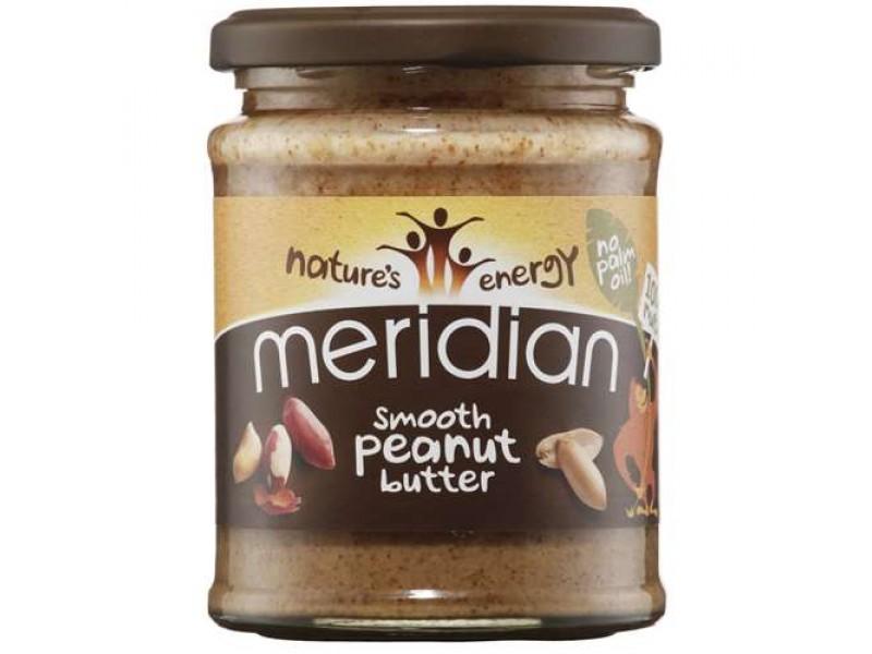 英國Meridian有機花生醬(軟滑) 280g
