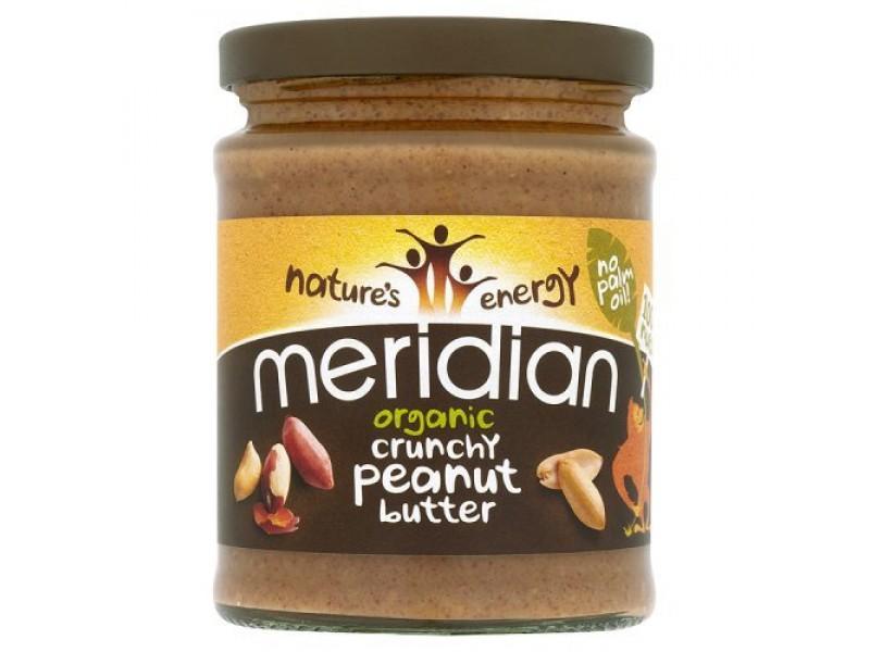 英國Meridian有機花生醬(粗粒) 280g