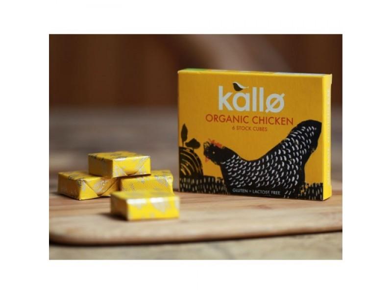 英國Kallo有機雞湯粒 6x11g