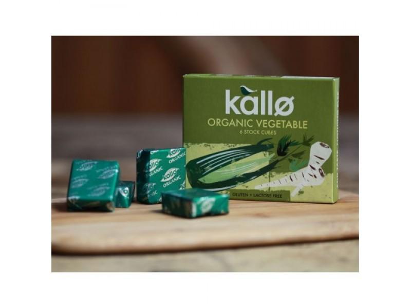 英國Kallo有機菜湯粒 6x11g