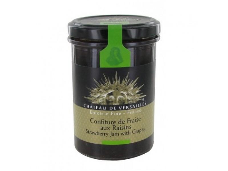 法國梵爾賽宮Versailles有機果醬-草莓提子 250g