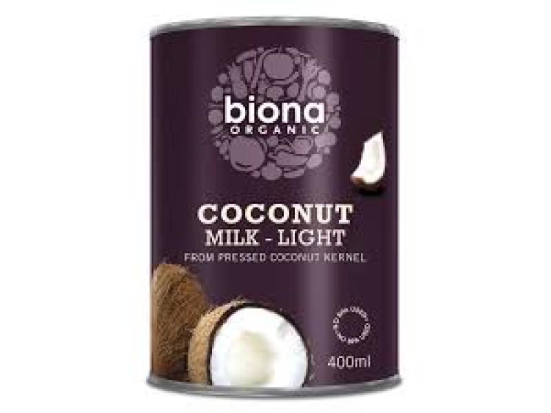 英國Biona Organic有機輕怡椰子奶 400ml