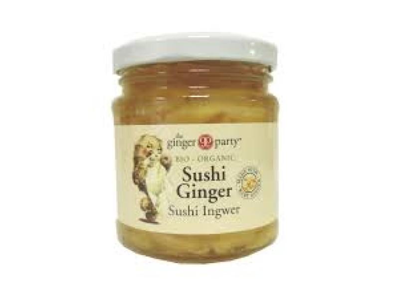 英國The Ginger Party有機壽司薑 190g