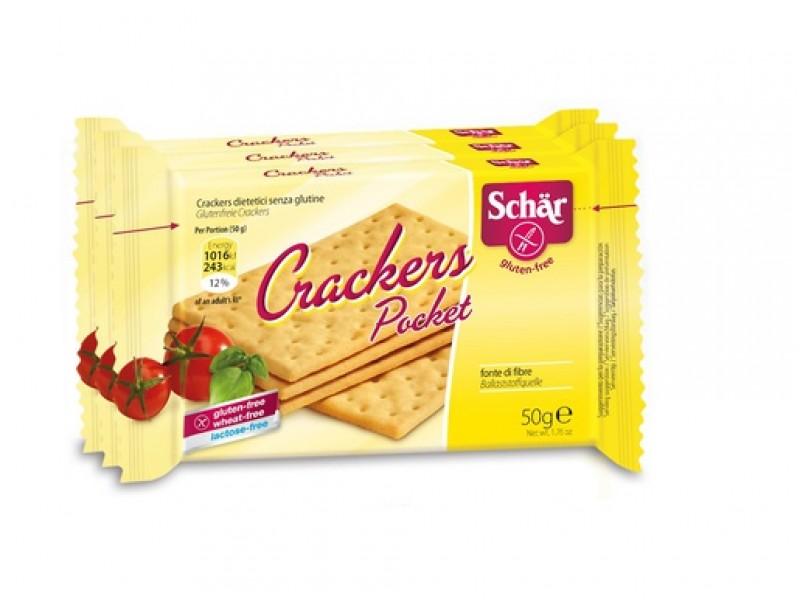 意大利Dr.Schaer無軼質袋裝咸餅乾 3x50g