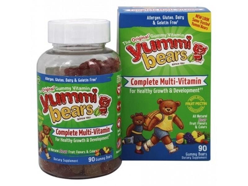 美國Yummi Bears多種維他命軟糖 90粒