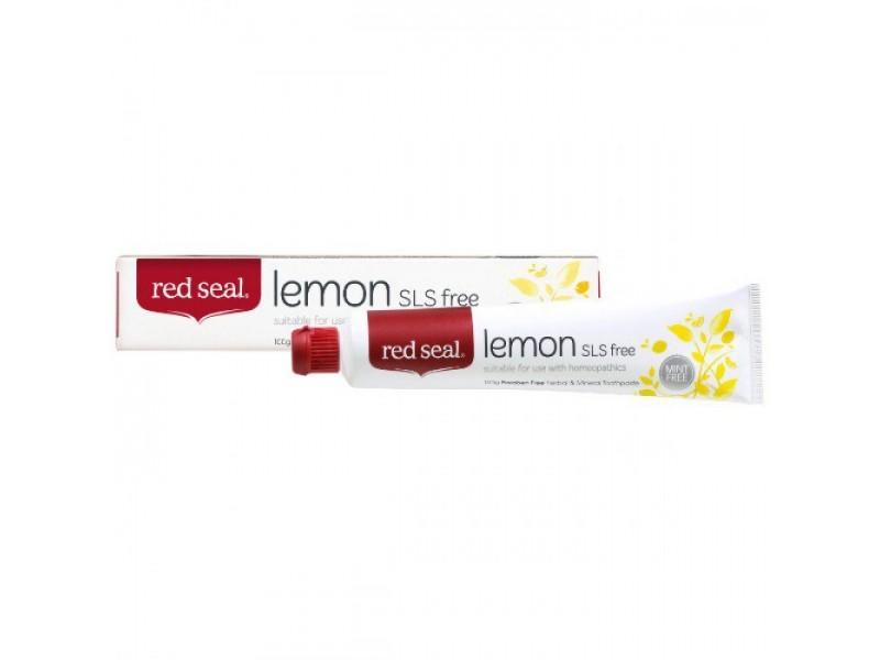 新西蘭Red Seal 天然檸檬牙膏 100g