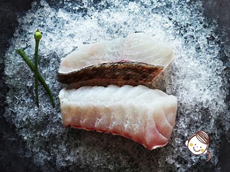 無激素花尾龍躉魚柳
