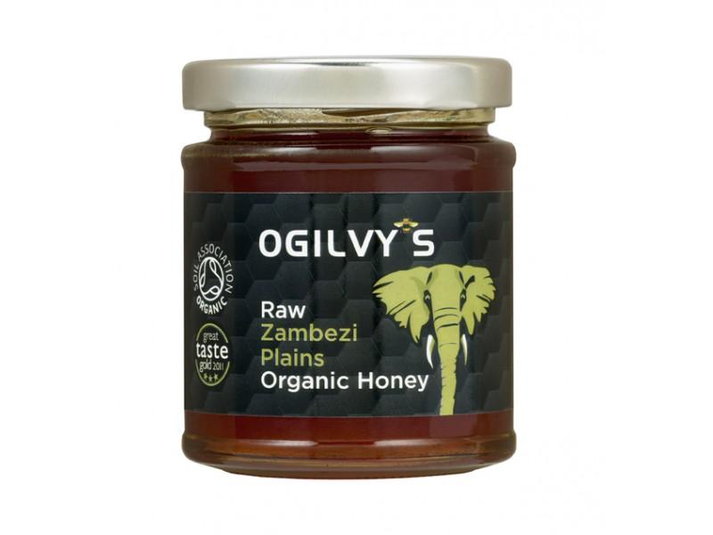 英國Ogilvy'S尚比西平原有機純蜂蜜 240g