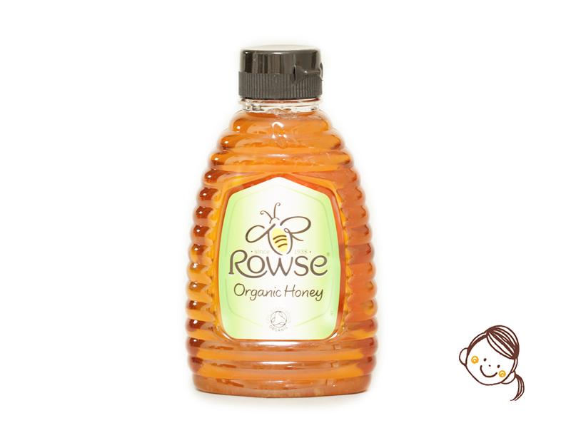 英國Rowse有機蜜糖 (吱吱裝) 340g
