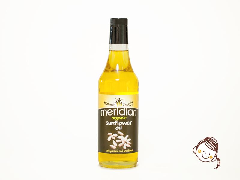 英國Meridian有機葵花籽油 500ml