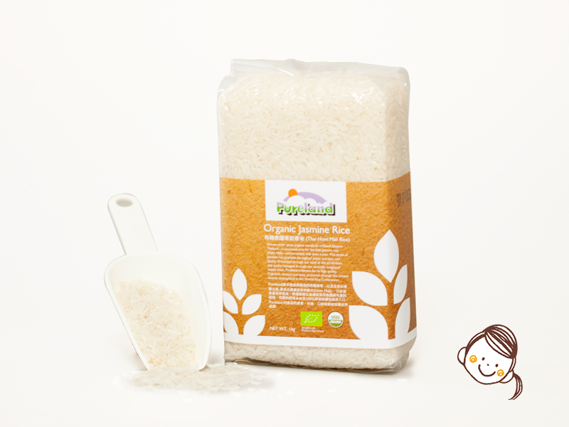 泰國Pureland有機苿莉嬰兒香米 1kg