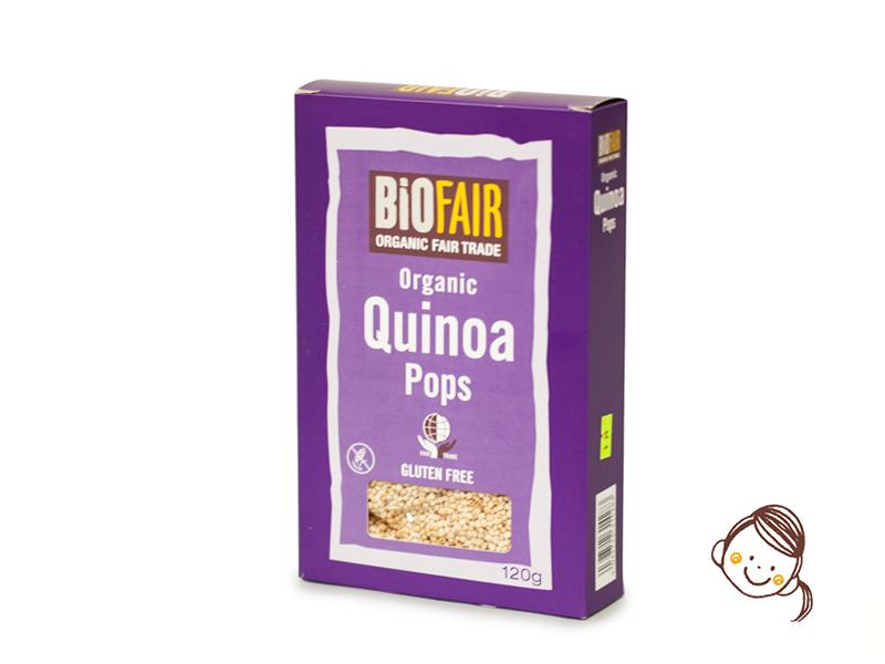 英國Biofair有機藜麥脆脆 120g