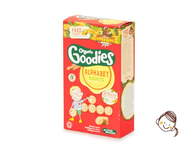 Organix Goodies 英文字母餅