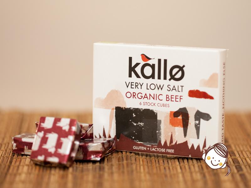 英國Kallo有機牛肉湯粒 6x11g