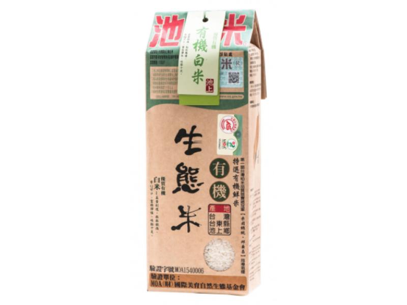 池上米 有機生態米 - 白米 1.5kg