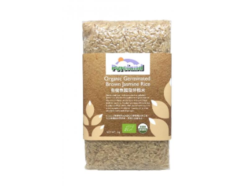 PURELAND 有機發芽糙米1kg