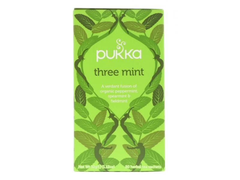 英國Pukka有機薄荷茶 20包