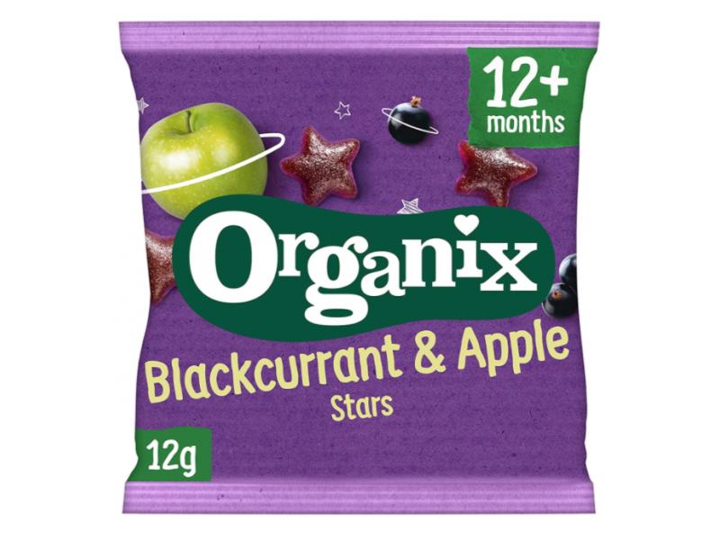 英國 ORGANIX有機黑加侖子蘋果粒 12g