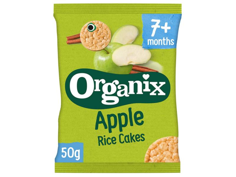 英國 ORGANIX有機蘋果味米餅 50g