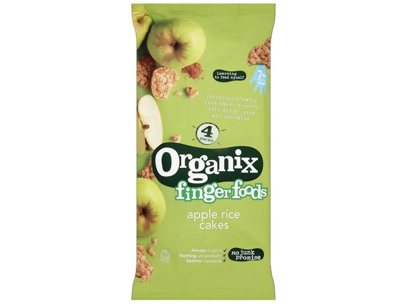 英國 ORGANIX有機蘋果米餅 28gX4