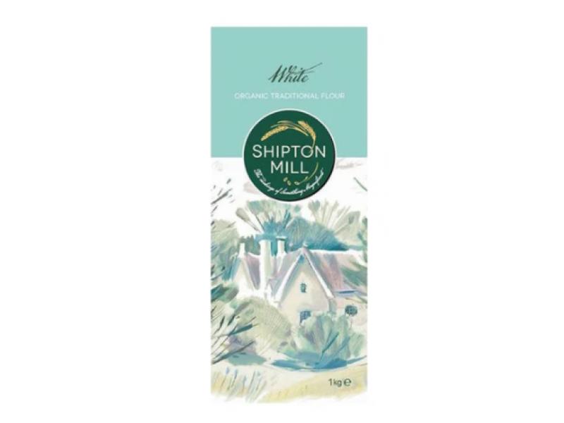 英國 SHIPTON MILL有機石磨白麵粉 1kg