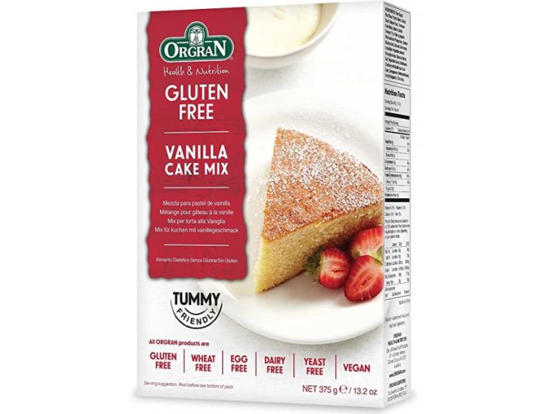 澳洲 ORGRAN無麩質香草蛋糕預拌粉 375g