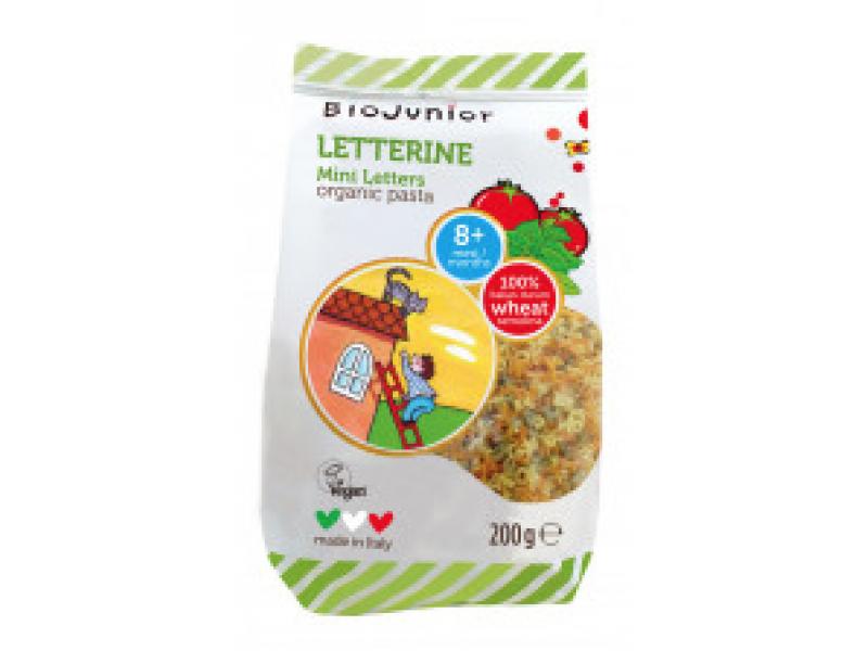 意大利 BIOJUNIOR有機蔬果字母粉 200g