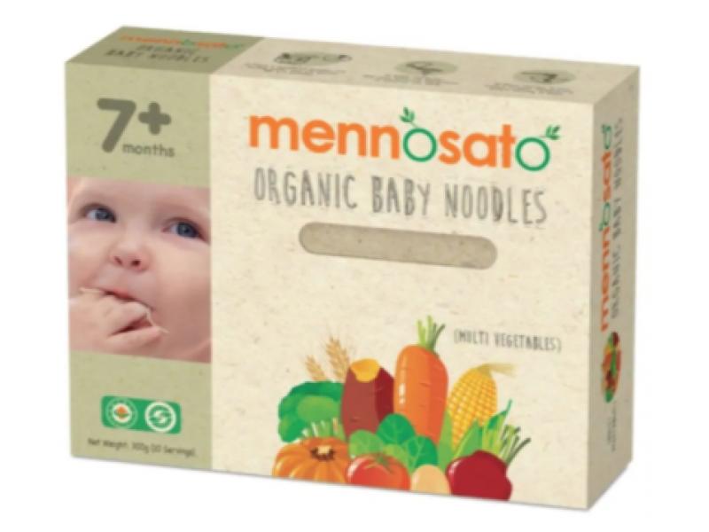 馬來西牙 MENNOSATO有機雜菜兒童麵線  300g