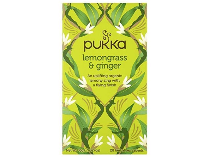 英國Pukka有機檸檬草薑茶 20包