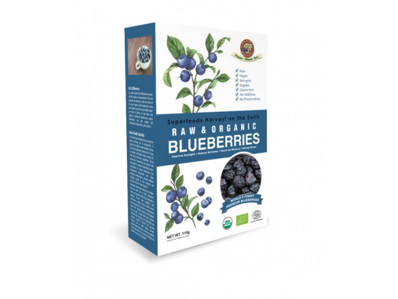 美國 EARTH HARVEST有機生機藍莓乾 150g