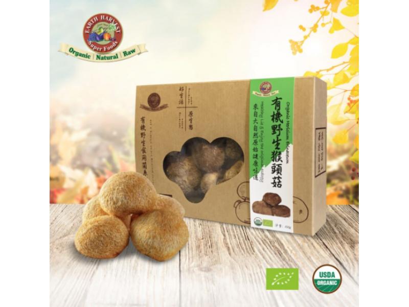 中國 EARTH HARVEST有機猴頭菇 100g