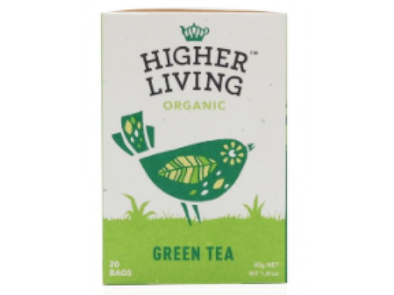 英國Higher Living有機綠茶 20包